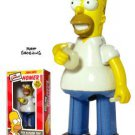 SIMPSONS - SMILING HOMER TIN ACTION WIND-UP TOY