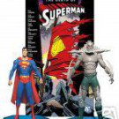 SUPERMAN VS. DOOMSDAY COLLECTOR ACTION FIGURE BOX  Set