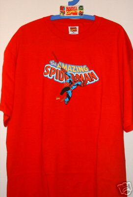 T-SHIRT - MARVEL LICENSED - SPIDERMAN