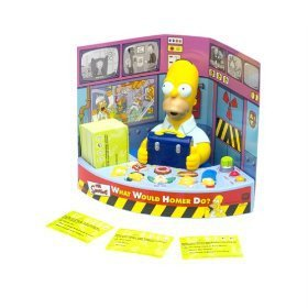 The Simpsons What Would Homer Do Electronic Trivia Game