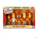 SIMPSONS-BART - BEST of  BART BENDABLES BOXED SET