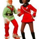 STAR TREK RETRO SERIES 5 - 2 PC SET UHURA AND MUGATO