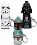 STAR WARS - SERIES 1 STACK EMS COMPLETE SET of 3 KEYCHAIN