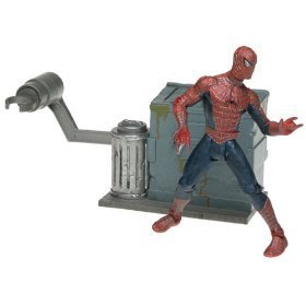 Spider-Man:The Movie Series 2 Leaping Spider-Man Figure