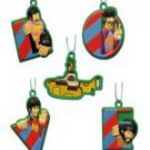 The Beatles Yellow Submarine Mini Christmas Ornament Box Set of 5