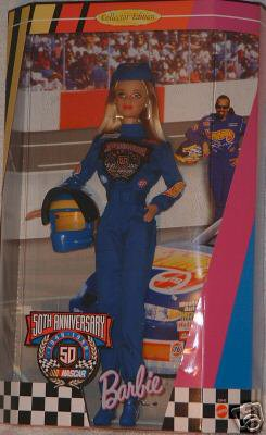 BARBIE - NASCAR 50 th ANNIVERSARY