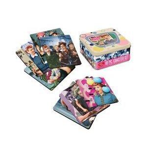 I Love Lucy 10 - Piece Coaster Set with Tin Storage Box