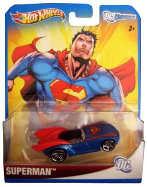 HOT WHEELS DC UNIVERSE SUPERMAN 1:64 SCALE COLLECTIBLE DIE CAST CAR