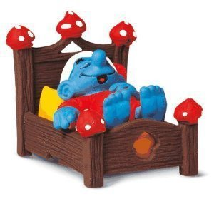 Smurf Figure  with  Bed from Schleich Toys