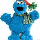 SESAME STREET - COOKIE MONSTER WINTER PLUSH