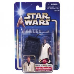 Star Wars Ep 2 aotc Anakin Skywalker Outland Peasant Action Figure