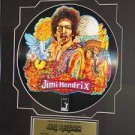 JIMI HENDRIX - 2 SIDED PROMOTIONAL PICTURE DISC