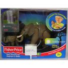 Fisher Price Wild Adventures Elephant and Baby