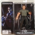 "TERMINATOR 2: SERIES 1 T-800  MAN OR MACHINE 7"" FIGURE"