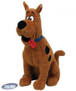 SCOOBY DOO- SCOOBY DOO LARGE PLUSH BEANIE BY TY