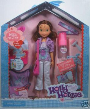 HOLLY HOBBIE DESIGN MY STYLE - AMY MORRIS DOLL