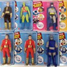 DC RETRO SUPER HEROS UNIVERSE ASSORTMENT SEALED CASE of 8 ACTION FIGURES