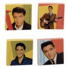 ELVIS PRESLEY 1960'S IMAGE TILE MAGNET SET HEAVY DUTY