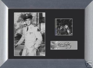 ELVIS PRESLEY  LIMITED EDITION ORIGINAL MINI FILM CELL