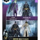 DARK KNIGHT - BATMAN COLLECTORS EDITION  4 Piece BOX SET action figures