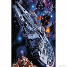 STAR WARS  - A NEW HOPE MONTAGE LIMITED  EDITION  3D VIVID VISION POSTER