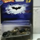 BATMAN 1:50 SCALE DARK KNIGHT BAT-POD by HOT WHEELS