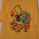 T-SHIRT-OFFICIALLY LICENSED-SIMPSONS-BART SKATEBOARDER