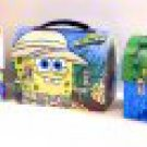 SPONGEBOB SQUAREPANTS LARGE WORKMAN'S CARRY ALL TIN