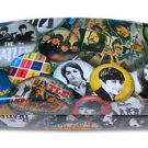 BEATLES - BUTTONS EYEGLASS CASE