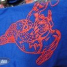 T-SHIRT  -MARVEL LICENSED  -SPIDERMAN RED SILHOUETTE TEE