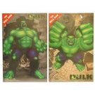 HULK SET of  TWO METAL WALL SIGNS by Tin Box Co.