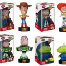 DISNEY TOY STORY - TALKING BOBBLE HEAD SET of 4 PIECES