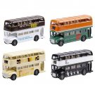 BEATLES ALBUM COVERS SET OF 4 DIE CAST BUSES