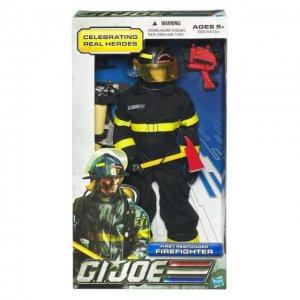 GI Joe 12 Inch Firefighter by Hasbro