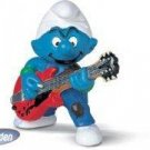SMURFS - SMURF LEAD GUITAR PLAYER MINI FIGURE by SCHLEICH