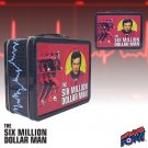 SIX MILLION DOLLAR MAN RUNNING LARGE TIN TOTE