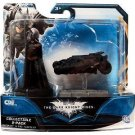 BATMAN - DARK KNIGHT RISES 2 PACK BATMAN AND BLACK TUMBLER mini ACTION FIGURES