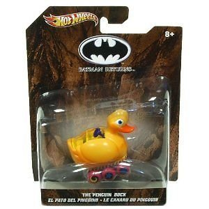 HOT WHEELS DC UNIVERSE The Penguin Duck Batman Returns  1:50 SCALE DIE CAST Car