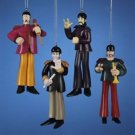 BEATLES YELLOW SUBMARINE SGT PEPPER BAND SET OF 4 FIGURES