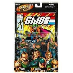 GI Joe 3 Pack # 75 Dreadnok Ripper , Thrasher , Buzzer