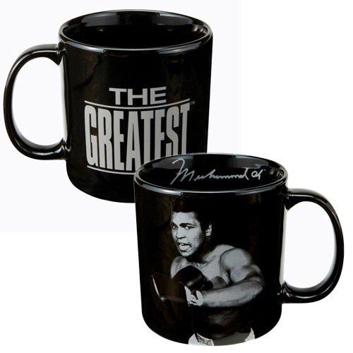 Muhammad Ali Mug, Black, 20-Ounce by Vandor
