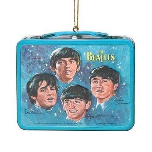 Mini Lunch Box Ornament - Beatles Debut Album-Please Please Me by Kurt S. Adler