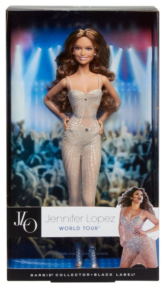 BARBIE - JENNIFER LOPEZ JLO WORLD TOUR POP STAR COLLECTOR BARBIE DOLL