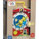 MUSIC BOX TEACHING CLOCK BY FISHER PRICE