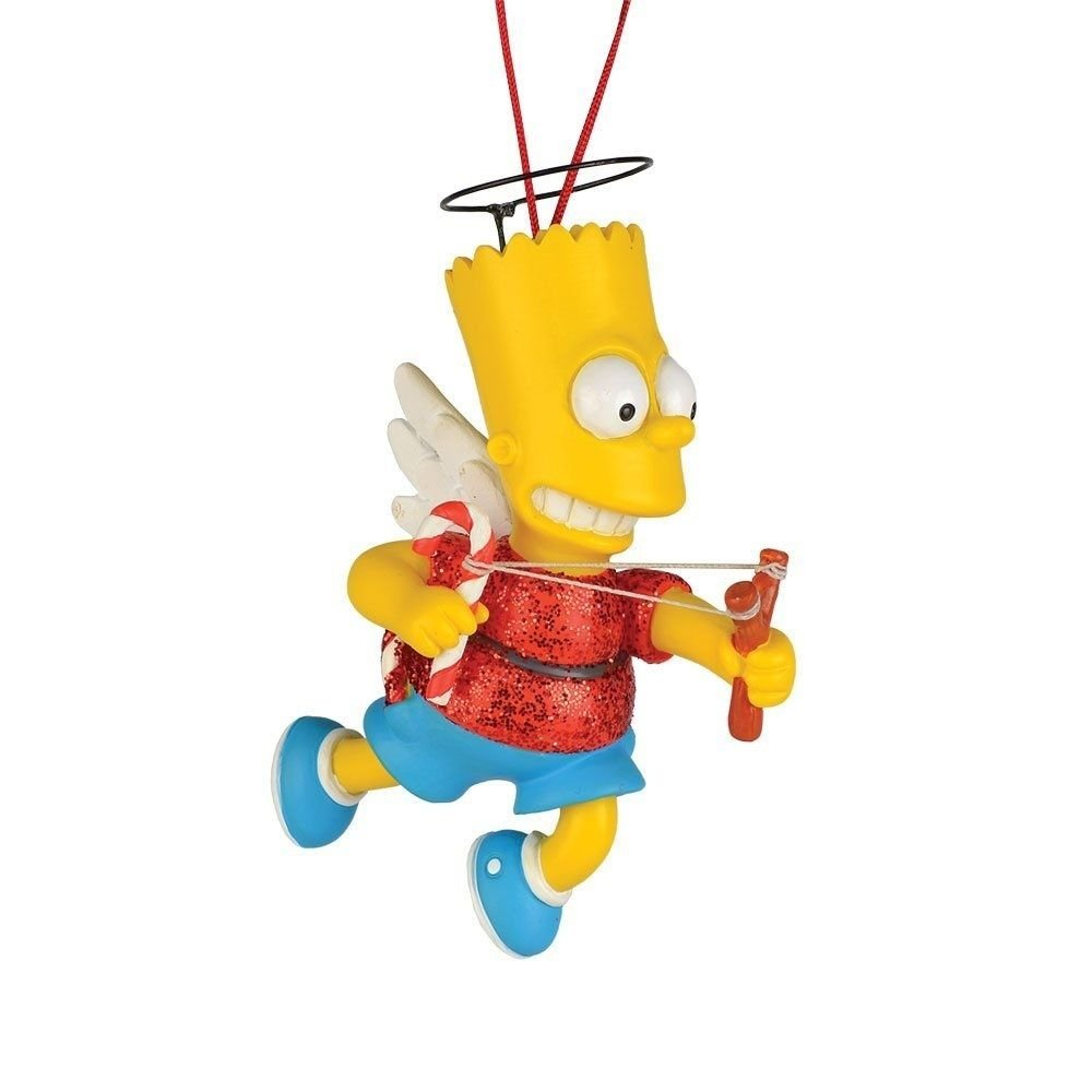 SIMPSONS-BART THE ANGEL ORNAMENT BY DEPT. 56