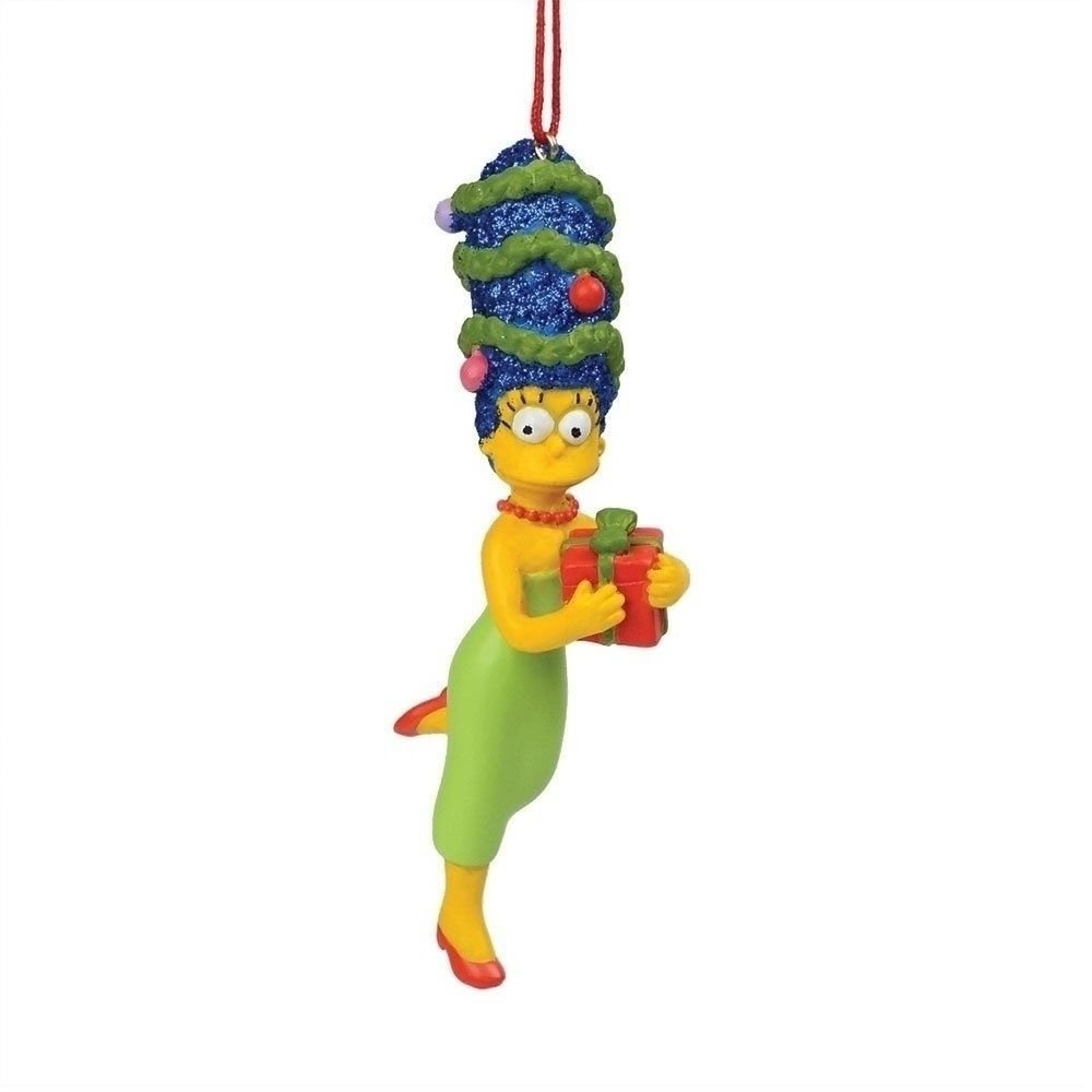 SIMPSONS-MARGE HAS GIFT ORNAMENT BY DEPT. 56