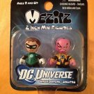 Green Lantern/Sinestro Mini Mezitz  DC Universe 2 inch 2 pk DESIGNER VINYL SET