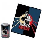 MUHAMMAD ALI The Greatest Fleece Throw with Tin by Vandor