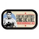 """Muhammad Ali™ """"Float like a Butterfly"""" Magnetic Mini Tin Sign"""