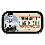 "Muhammad Ali� ""Float like a Butterfly"" Magnetic Mini Tin Sign"